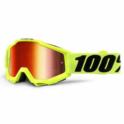 100% Crossbrille Accuri Extra Fluo Yellow, fluogelb-schwarz