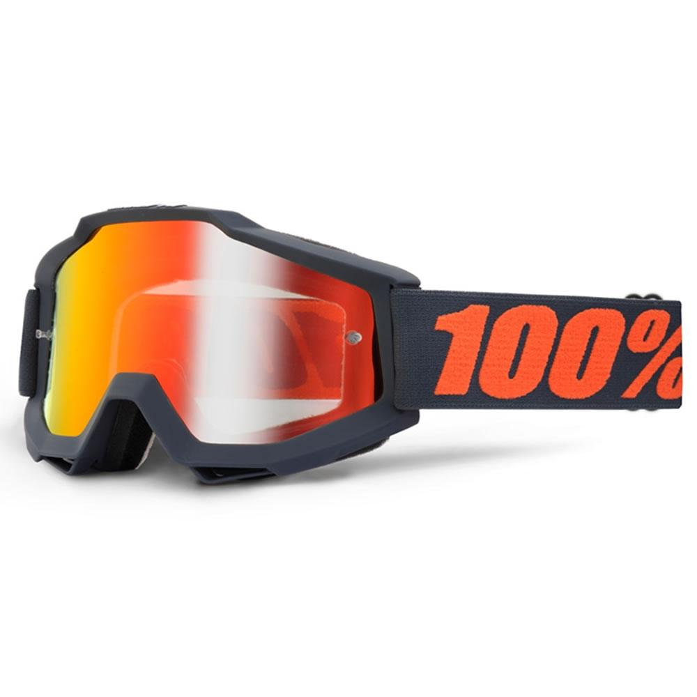 100/% Crossbrille Accuri Grau