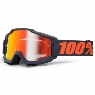 100% Crossbrille Accuri Extra Gunmetal, grau matt