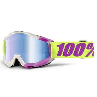 100% Crossbrille Accuri Extra Tootaloo, gelb-pink