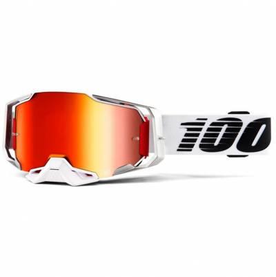 100% Crossbrille Armega Extra Lightsaber, weiß