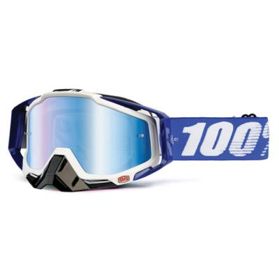 100% Crossbrille Racecraft Extra Cobalt blue