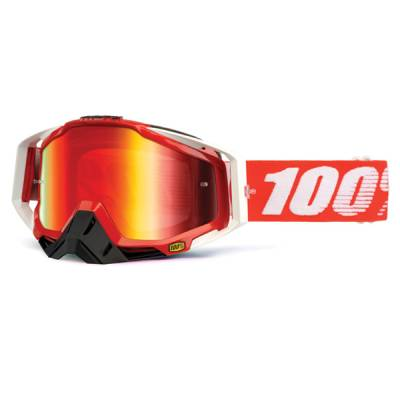 100% Crossbrille Racecraft Extra Fire red, rot