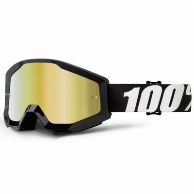 100% Crossbrille Strata Extra Outlaw, schwarz