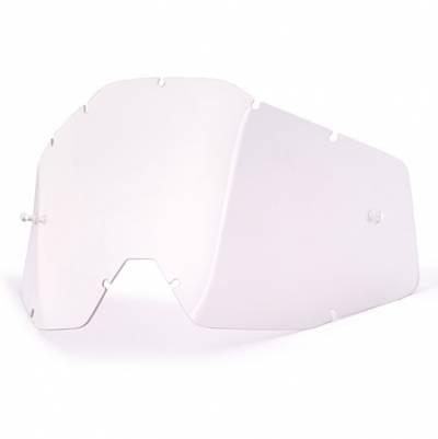 100% Ersatzglas für Strata/Accuri/Racecraft, klar