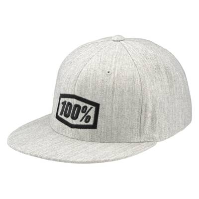100% Mütze Essential, grau
