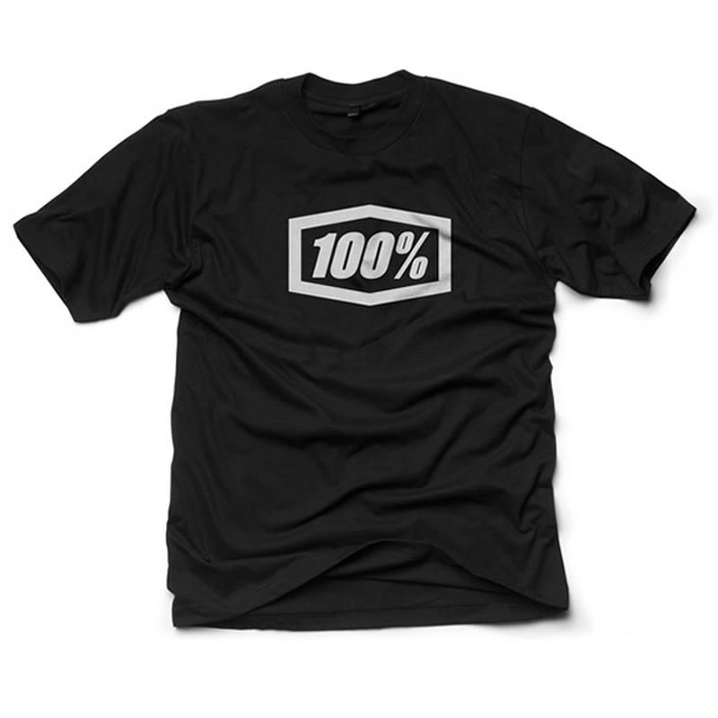 100% T-Shirt Essential, schwarz