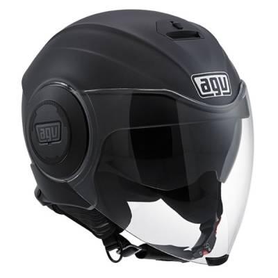 AGV Helm Fluid Solid, schwarz-matt