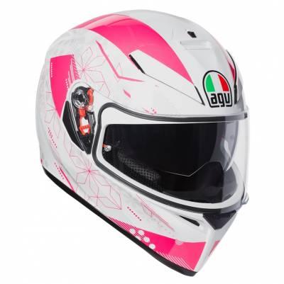 AGV Helm K-3 SV Izumi, weiß-pink