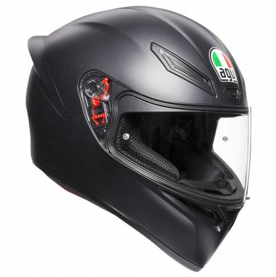 AGV Helm K1, schwarz matt