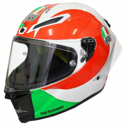 AGV Helm Pista GP R Rossi Mugello 2018, grün-weiß-rot