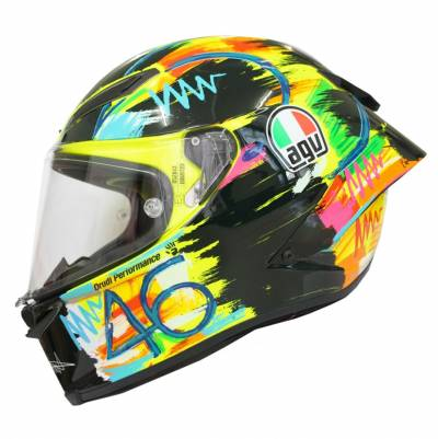 AGV Helm Pista GP R Rossi Winter Test 2019
