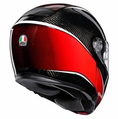 AGV Helm Sportmodular Multi Aero, carbon-rot