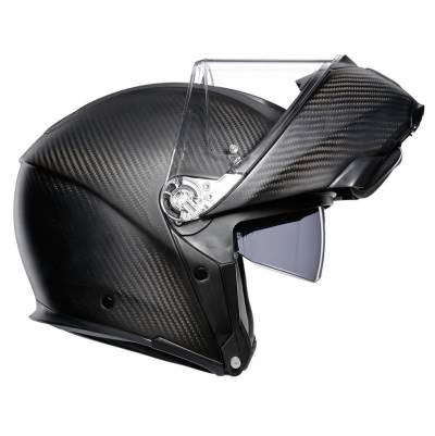 AGV Helm Sportmodular Solid, carbon matt