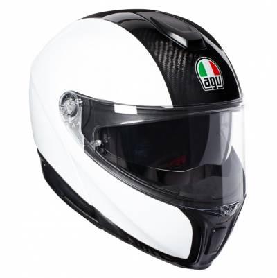 AGV Helm Sportmodular Solid, carbon-weiß