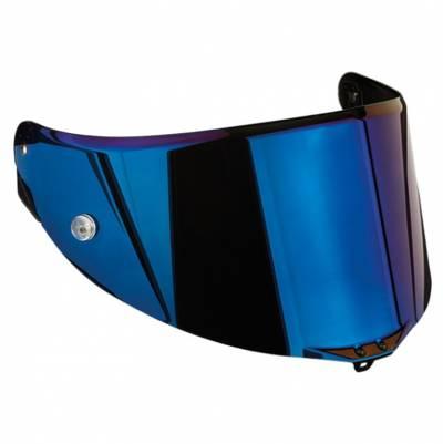 AGV Visier Race 2 Pista GP/Corsa/GT-Veloce, blau verspiegelt