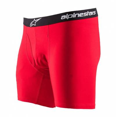 Alpinestars Boxershorts Cotton Brief, rot