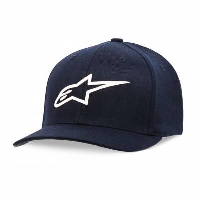 Alpinestars Cap Ageless Curve, dunkelblau-weiß