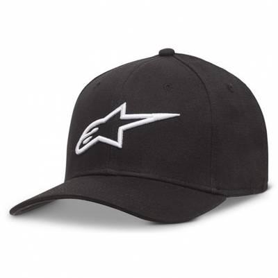 Alpinestars Cap Ageless Curve, schwarz-weiß