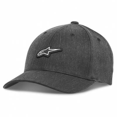 Alpinestars Cap Feast Hat, dunkelgrau-weiß