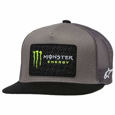 Alpinestars Cap Monster Champ, grau-schwarz