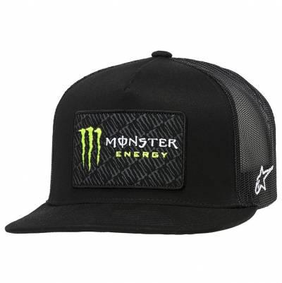 Alpinestars Cap Monster Champ, schwarz-schwarz