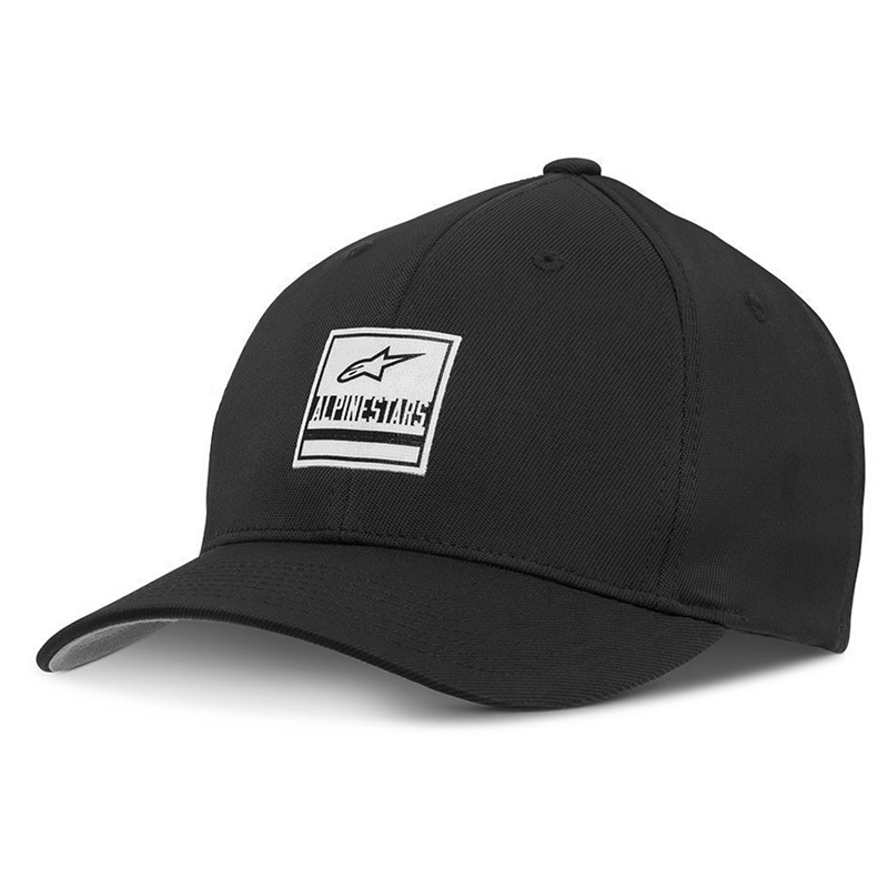Alpinestars Cap Stated Hat, schwarz-weiß