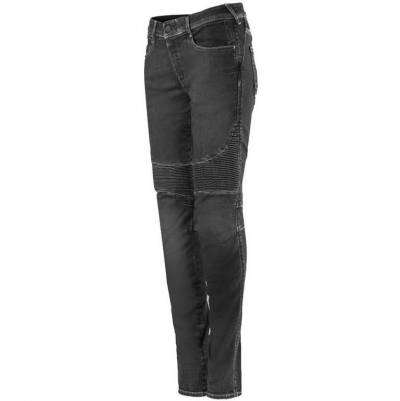 Alpinestars Damen Jeans Stella Callie, black waxed