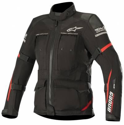 Alpinestars Damen Textiljacke Stella Andes Pro Drystar® (Tech-Air-e® kompatibel), schwarz-rot