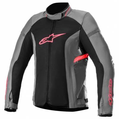 Alpinestars Damen Textiljacke Stella T-Kira v2 Air, grau-schwarz-pink