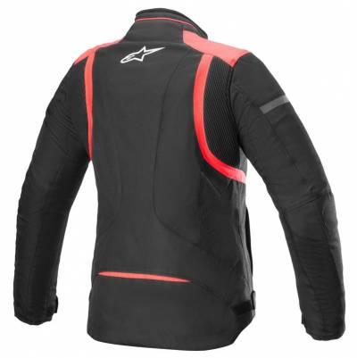 Alpinestars Damen Textiljacke Stella T-Kira v2 WP, schwarz-koralle