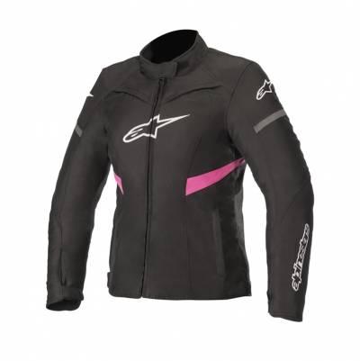 Alpinestars Damen Textiljacke Stella T-Kira WP, schwarz-fuchsia