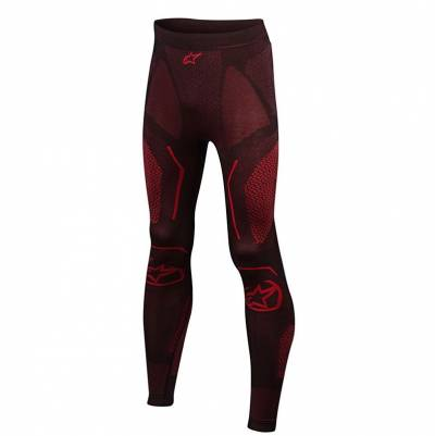 Alpinestars Funktionshose Ride Tech Bottom Summer, schwarz-rot