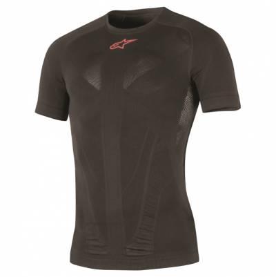 Alpinestars Funktionsshirt Tech Top Short Sleeve Summer, schwarz-rot