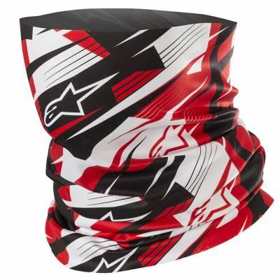 Alpinestars Halswärmer Blurred, schwarz-weiß-rot