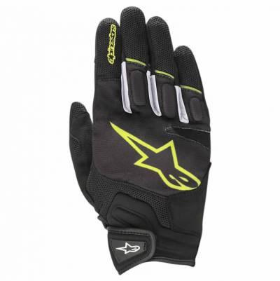 Alpinestars Handschuh Atom, schwarz-fluogelb