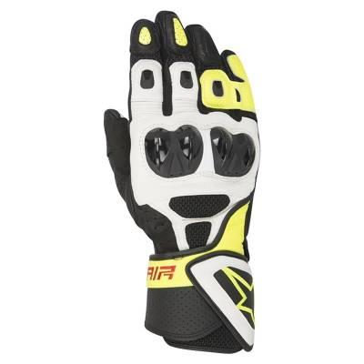 Alpinestars Handschuh SP-Air, schwarz-weiß-gelb