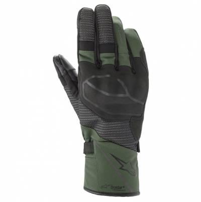 Alpinestars Handschuhe Andes v3 Drystar, schwarz-olivgrün