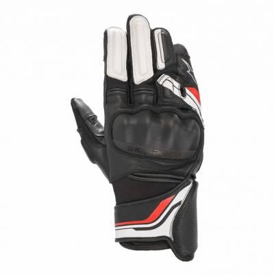 Alpinestars Handschuhe Booster v2, schwarz-weiss