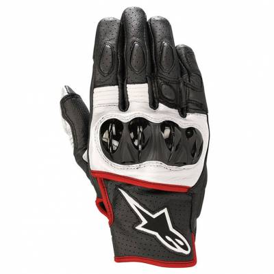 Alpinestars Handschuhe Celer V2, schwarz-weiß-fluorot