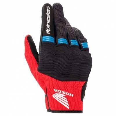 Alpinestars Handschuhe Copper Honda, schwarz-rot-blau