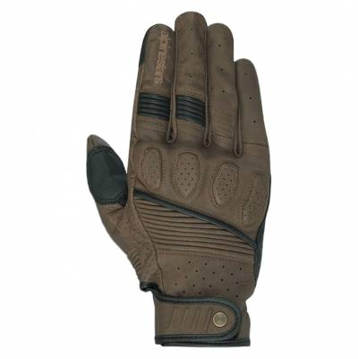 Alpinestars Handschuhe Crazy Eight, braun-schwarz