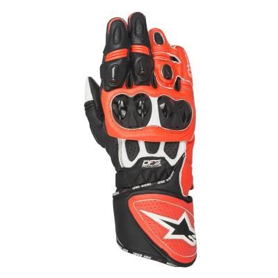Alpinestars Handschuhe GP Plus R, weiß-schwarz-rot