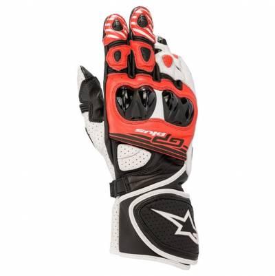 Alpinestars Handschuhe GP Plus R2, schwarz-weiß-rot