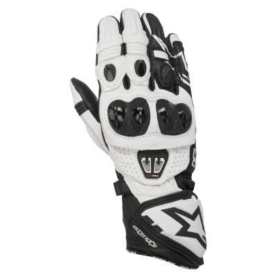 Alpinestars Handschuhe GP Pro R2, schwarz-weiß
