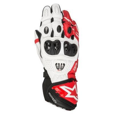 Alpinestars Handschuhe GP Pro R2, schwarz-weiß-rot