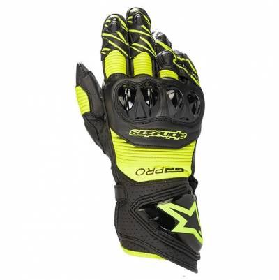 Alpinestars Handschuhe GP Pro R3, schwarz-fluogelb