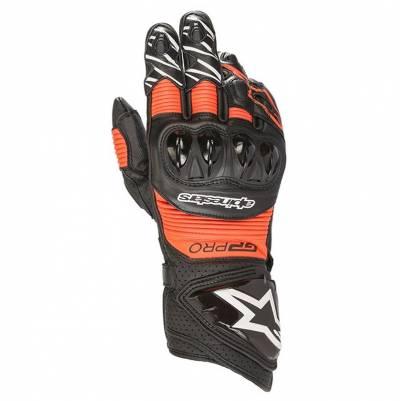 Alpinestars Handschuhe GP Pro R3, schwarz-fluorot