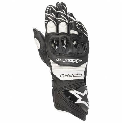 Alpinestars Handschuhe GP Pro R3, schwarz-weiß