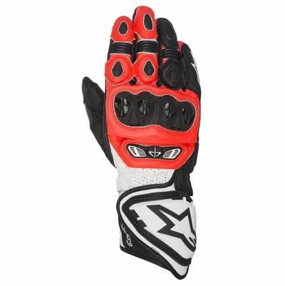 Alpinestars Handschuhe GP-Tech, schwarz-fluorot-weiß